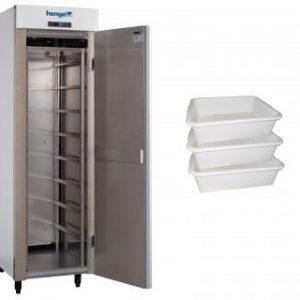 Шкаф ферментации с бункерами. Производитель HENGEL.