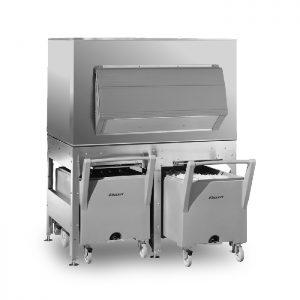 Бункеры для хранения льда и комплектующие для льдогенераторов. Производитель Minerva.